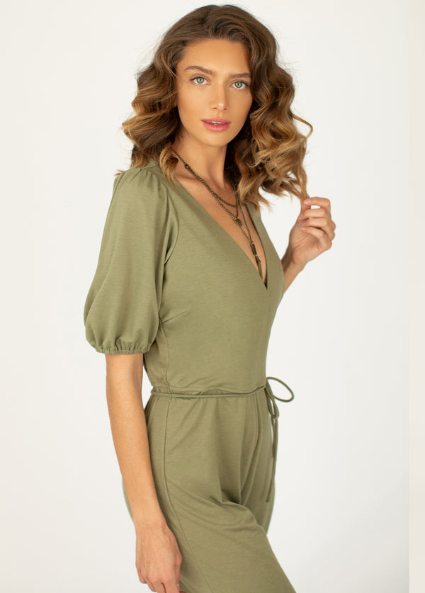 *NEW* Lucia Jumpsuit in Light Vetiver
