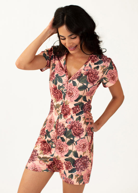 *NEW* Dreamy Romper in Pink Floral