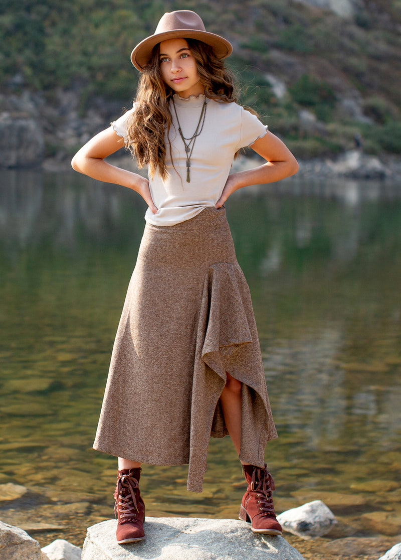 *NEW* Irma Skirt in Herringbone
