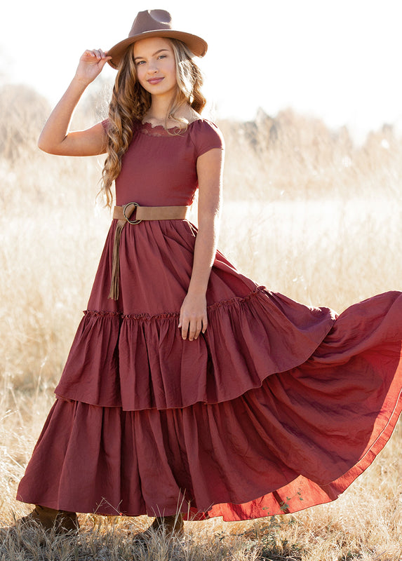Ivony Dress in Apple Butter
