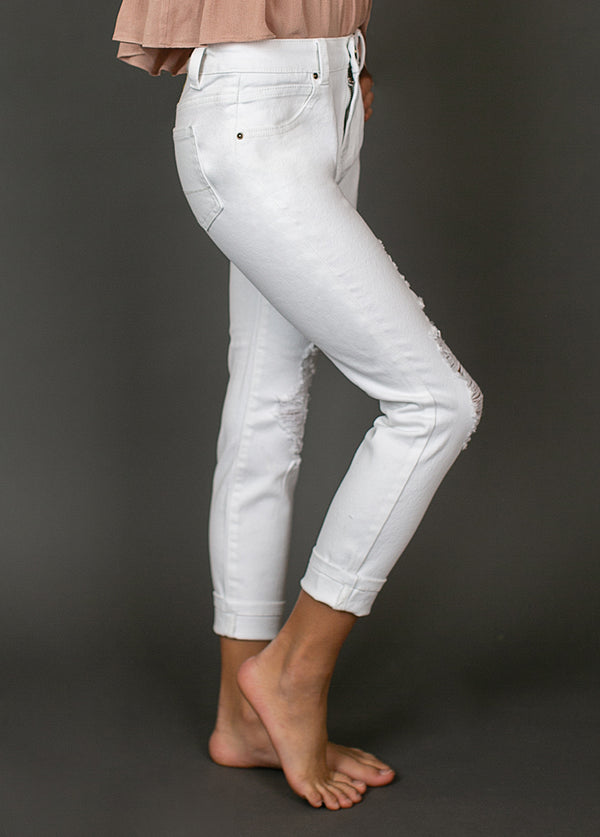 *NEW* Izzy Denim in White