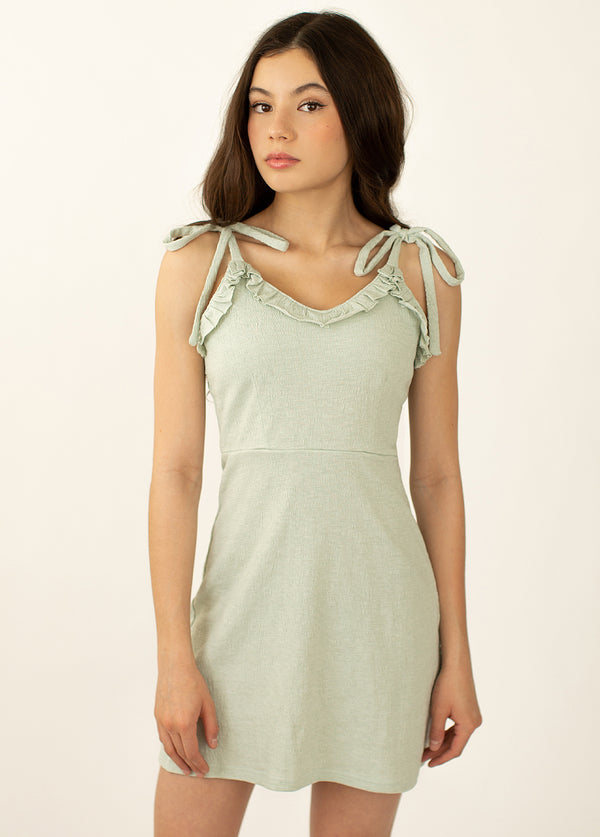 *NEW* Willa Dress in Island Sage