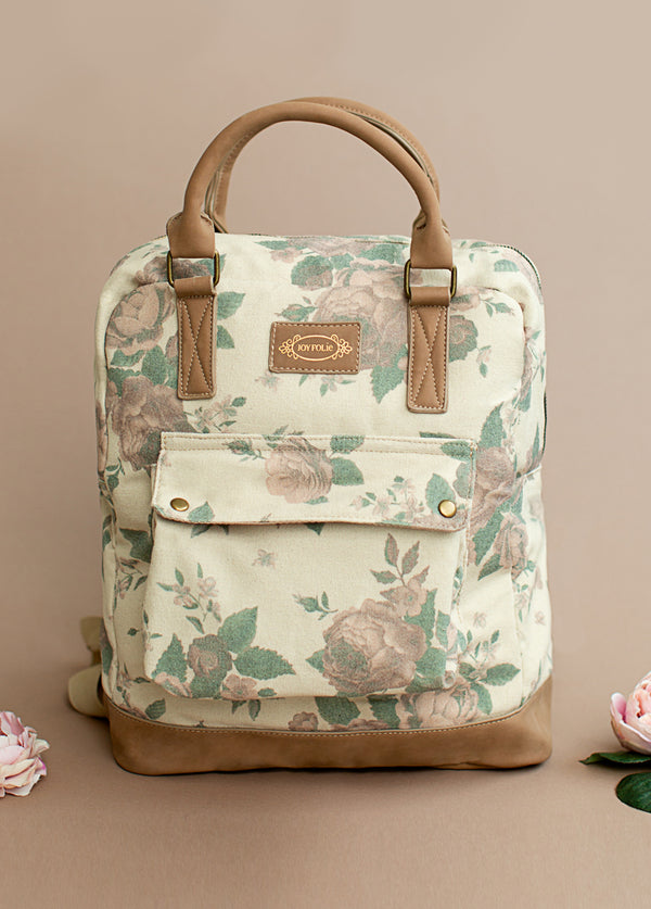 *NEW* Jeanie Backpack in Mauve Floral