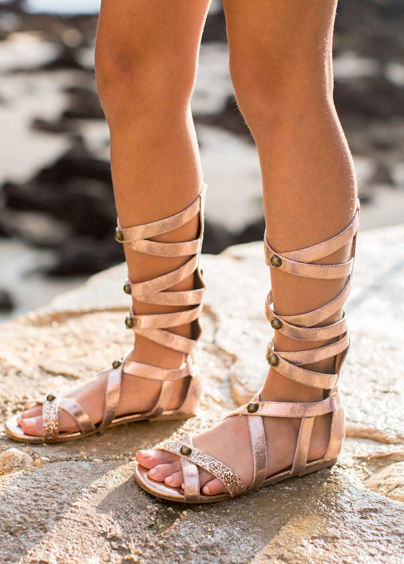 Jenna Gladiator in Rose Gold