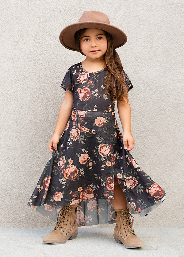 *NEW* Jeselle Dress in Black Floral