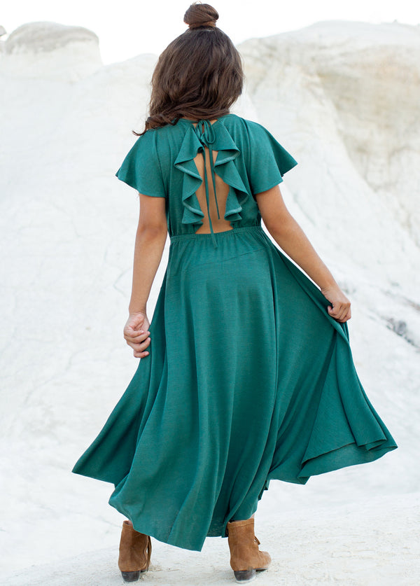 Jeselle Dress in Teal