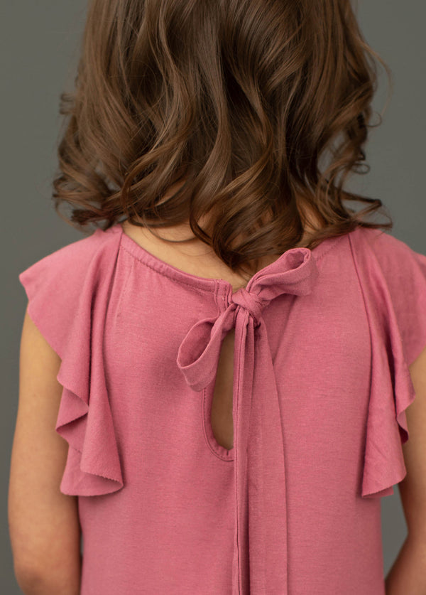 *NEW* Daisy Top in Bright Rose