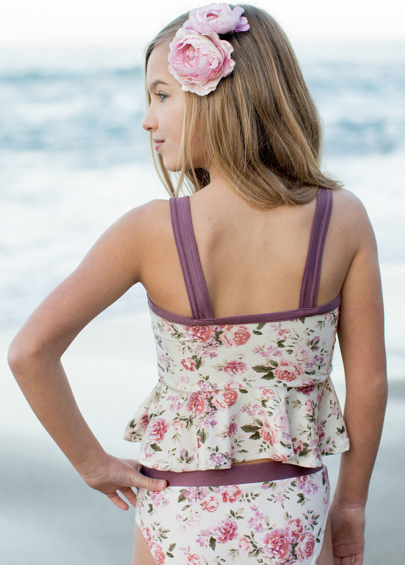*NEW* Jolene Swimsuit in Mauve Floral