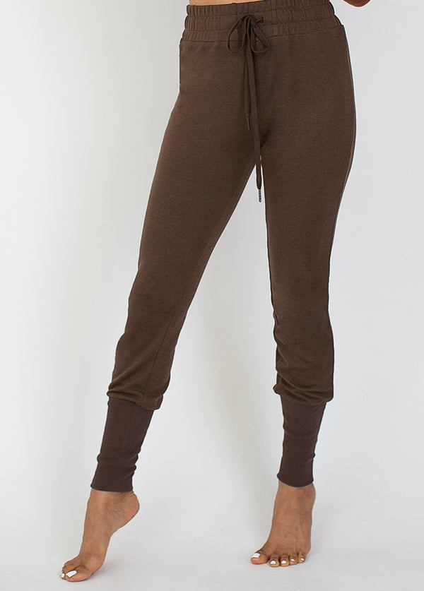 *NEW* Julie Jogger in Deep Taupe