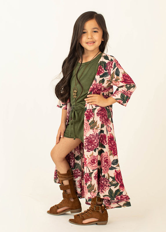 *NEW* Katherine Duster in Oversized Floral