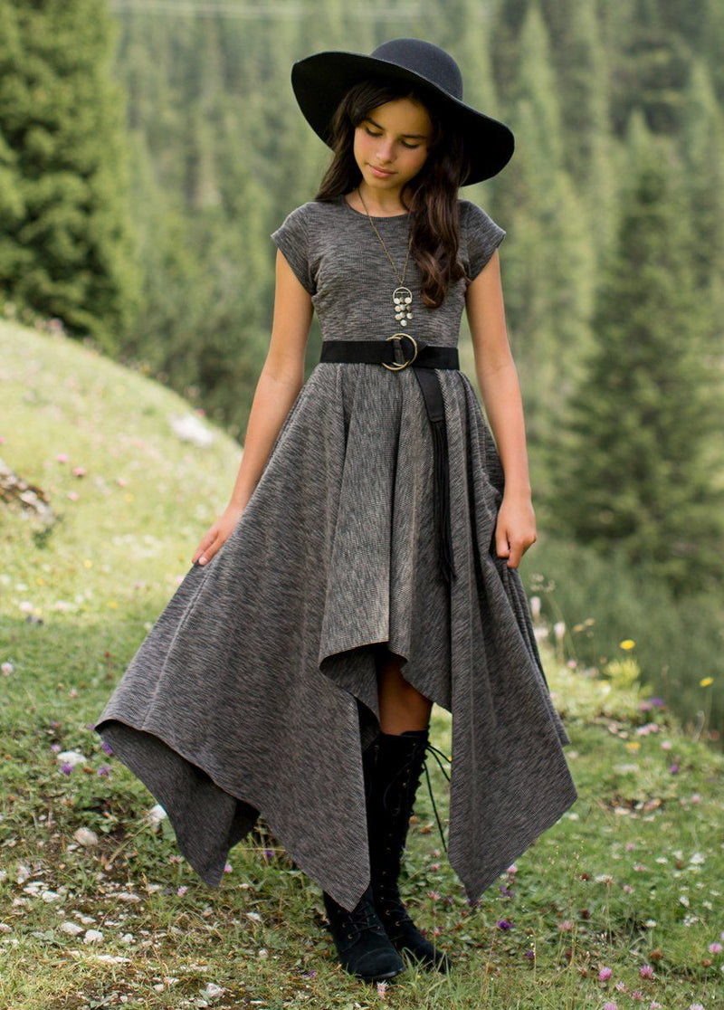 *NEW* Kaia Dress in Charcoal