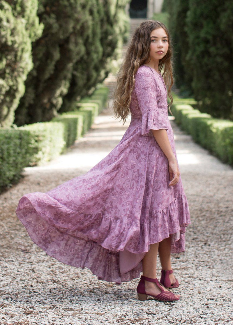 Kastel Dress in Lilac Floral