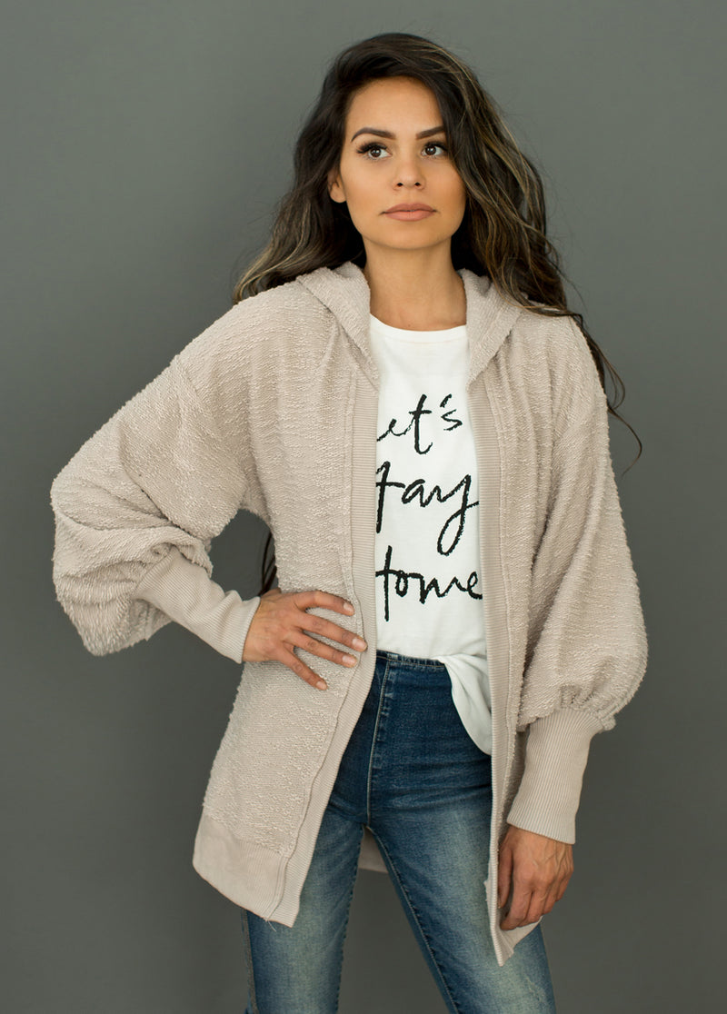 Kelsi Cardigan in Taupe