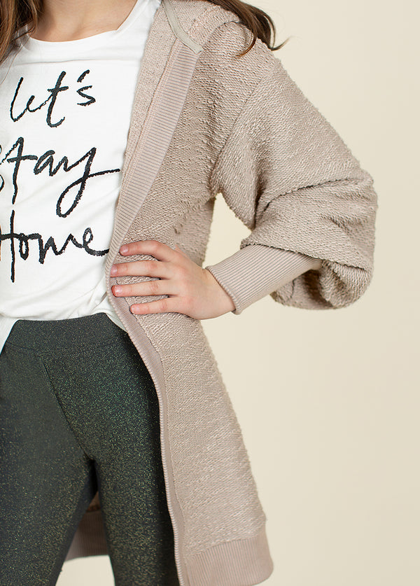 Kimberly Cardigan in Taupe