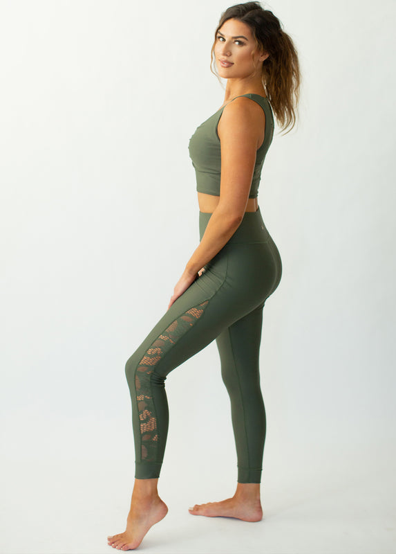 Emberly Legging in Thyme