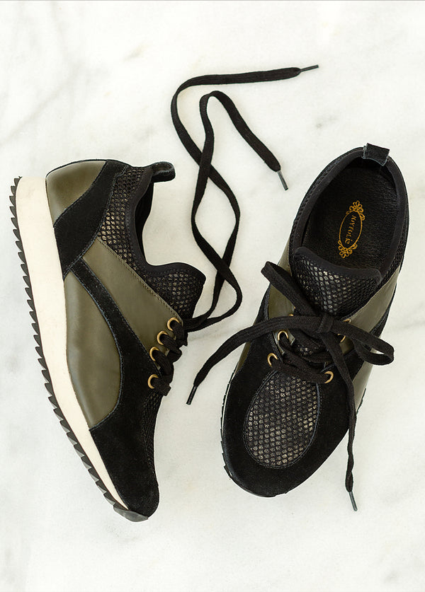 Kiran Sneaker in Shadow Olive