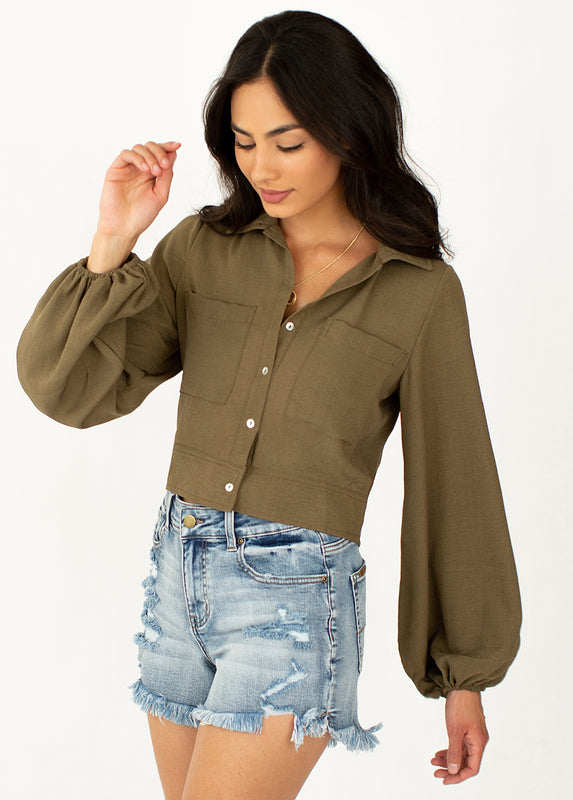 *NEW* Jane Top in Olive