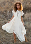 Lakynna Dress in Bone White