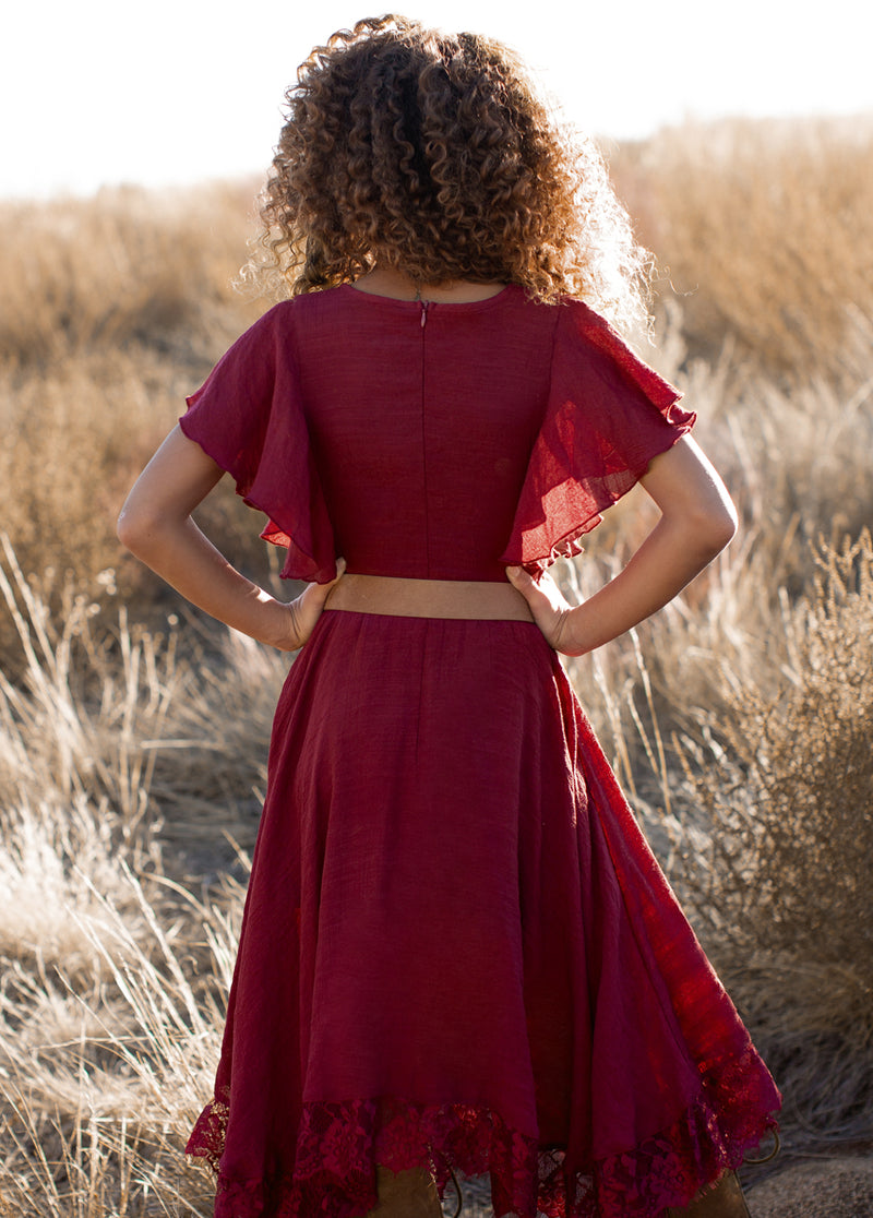 *NEW* Lakynna Dress in Burnt Brick