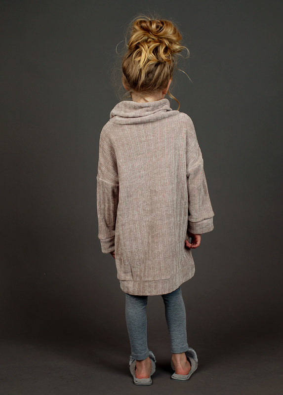 Liesel Oversized Sweater in Moss