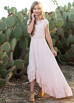 *NEW* Liza Dress in Shell Pink
