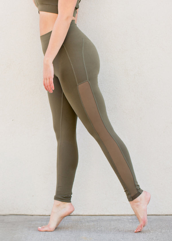 *NEW* Locklyn Leggings in Army Green