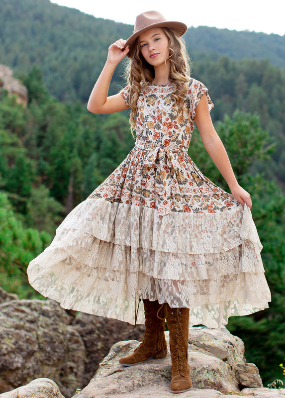 Lorelai Dress in Seine Floral