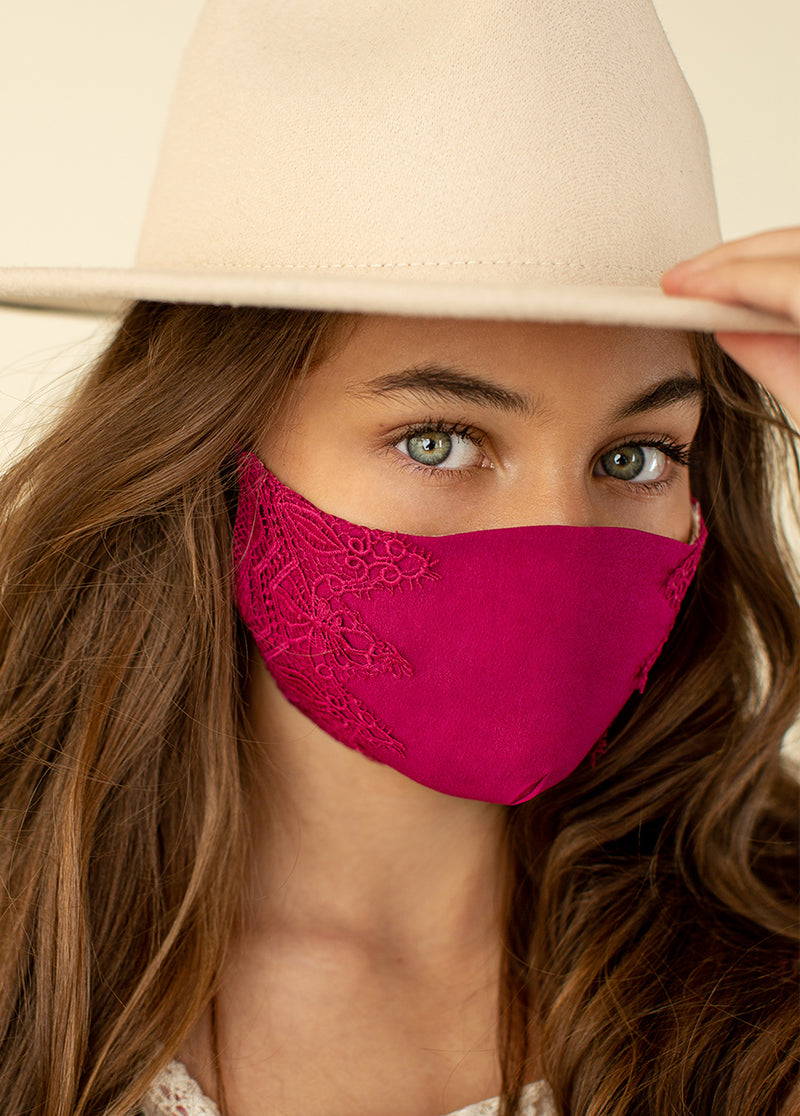*NEW* Arminda Mask Set in Rose Pink & Sandy Beach