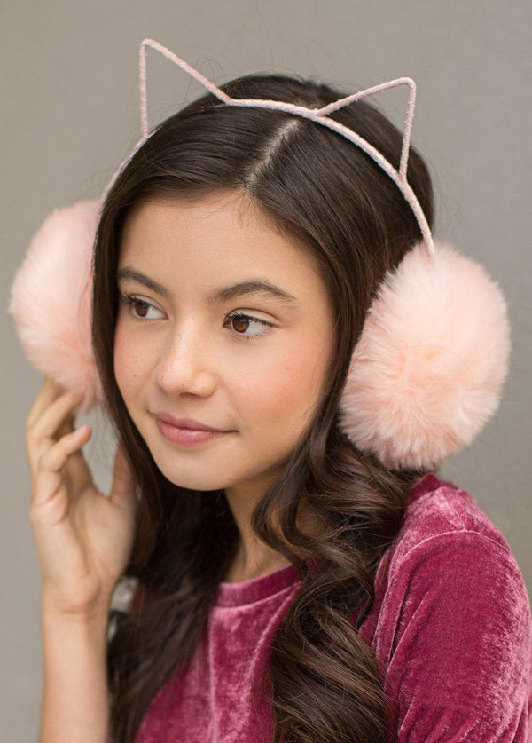 Macie Earmuffs in Blush
