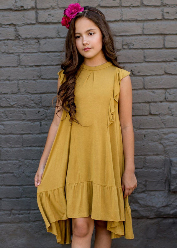 *NEW* Makayla Dress in Ochre