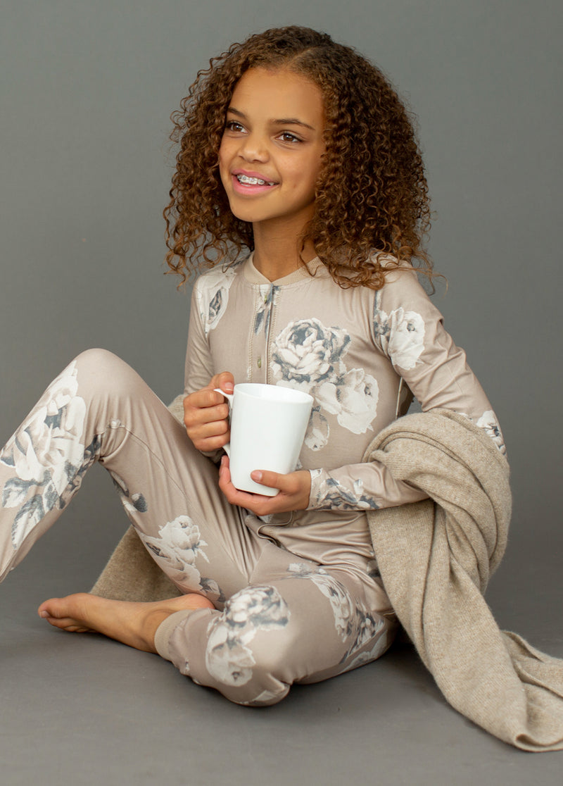 *NEW* Malila Onesie in Neutral Floral