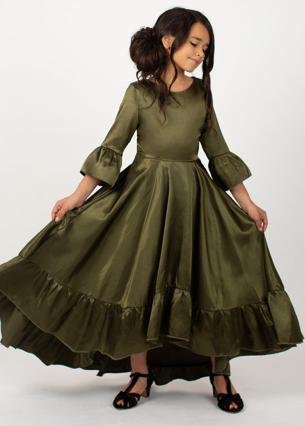 *NEW* Mayra Dress in Olive