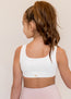 Marley Sports Bra in Ivory