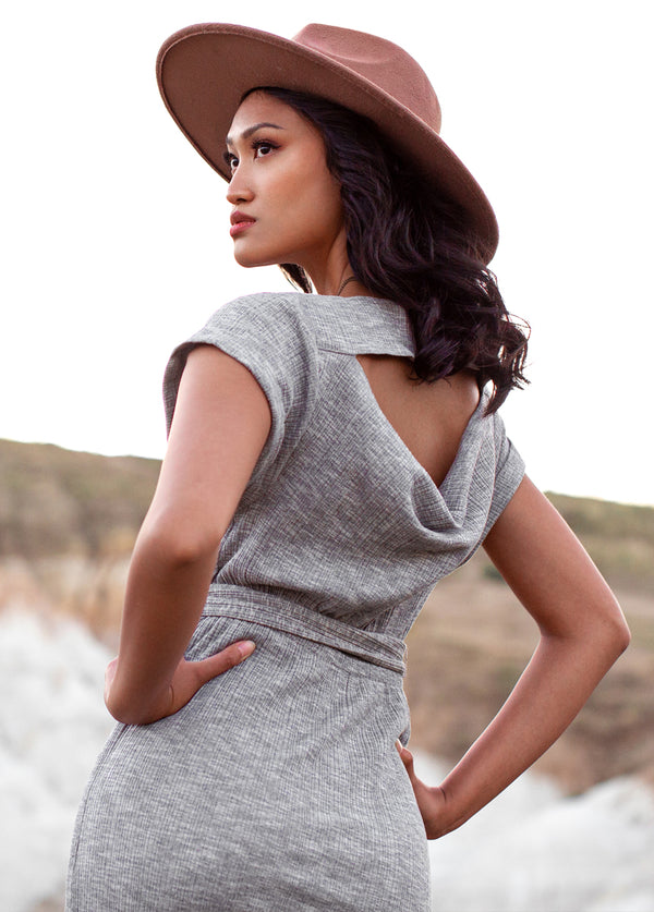 *NEW* Marnie Dress in Heather Grey