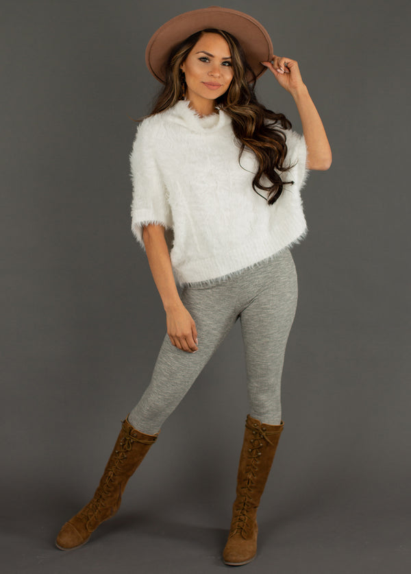 *NEW* Eliza Sweater in White Oat