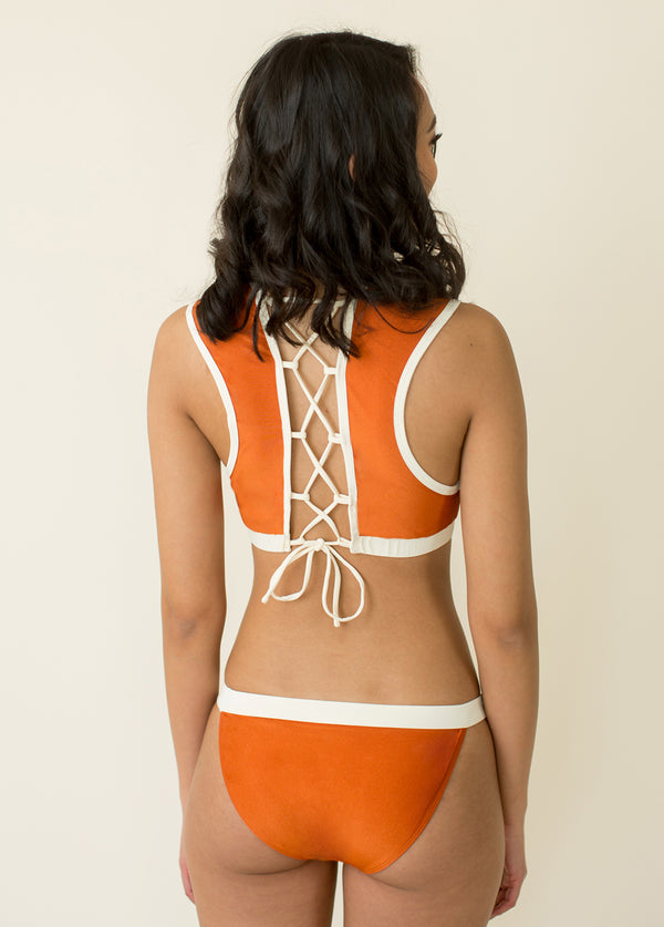 Maxine Two-Piece Swimsuit in Sienna