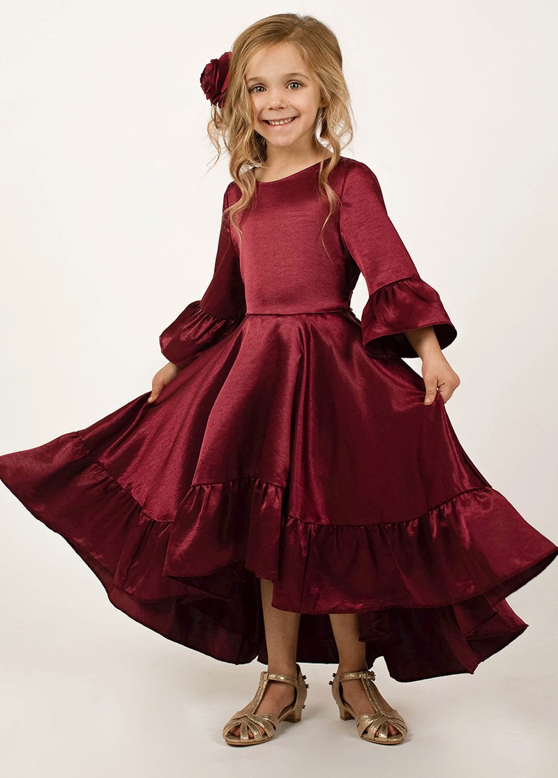 *NEW* Mayra Dress in Burgundy