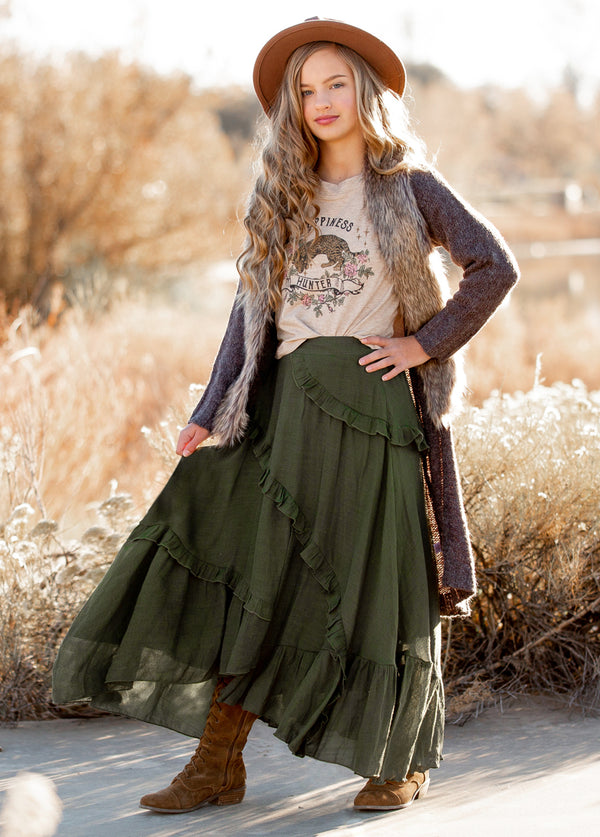 *NEW* McCarty Skirt in Olive