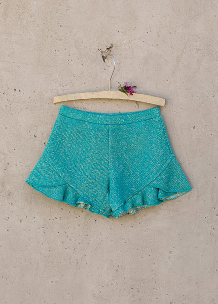 Melody Shorts in Turquoise