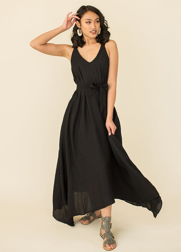 *NEW* Milena Dress in Black