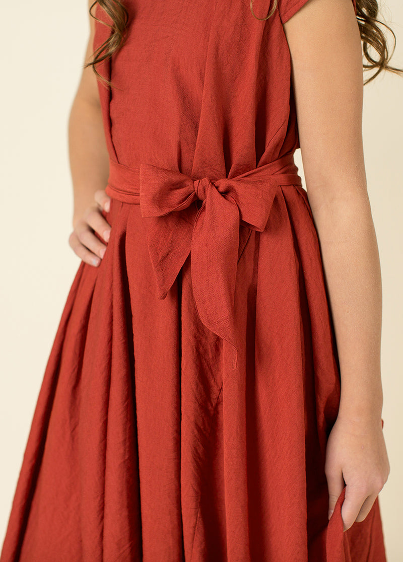 *NEW* Millie Dress in Burnt Sienna