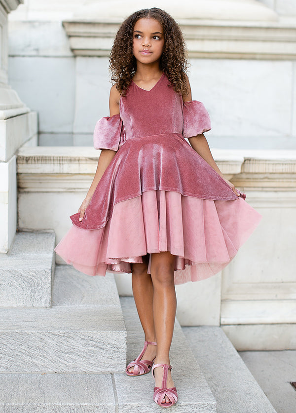 *NEW* Naava Dress in Deep Mauve
