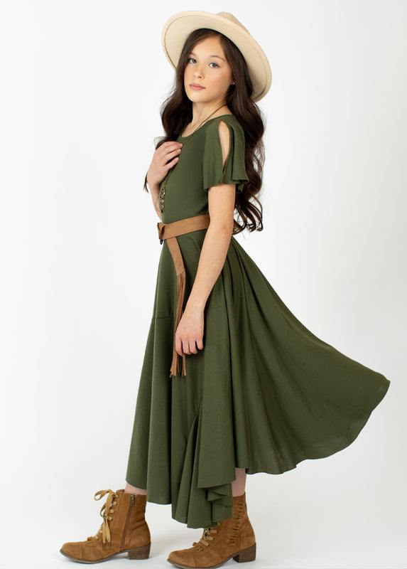 *NEW* Avy Dress in Olive