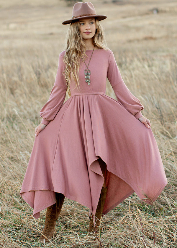 *NEW* Nichelle Dress in Dusty Rose