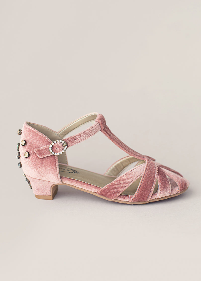 *NEW* Noelle Kitten Heel in Pink