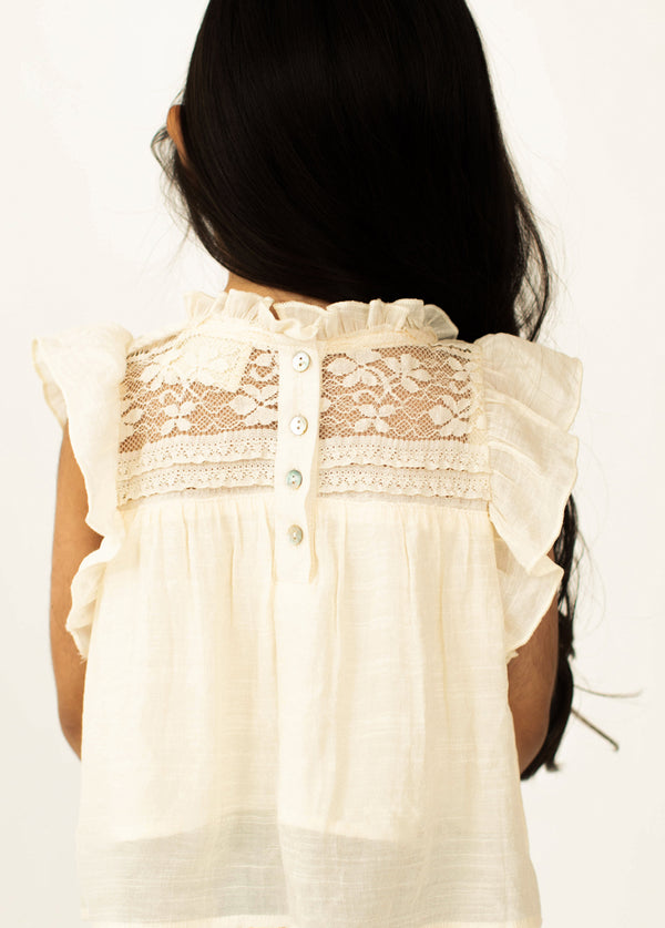 *NEW* Caroline Top in Cream