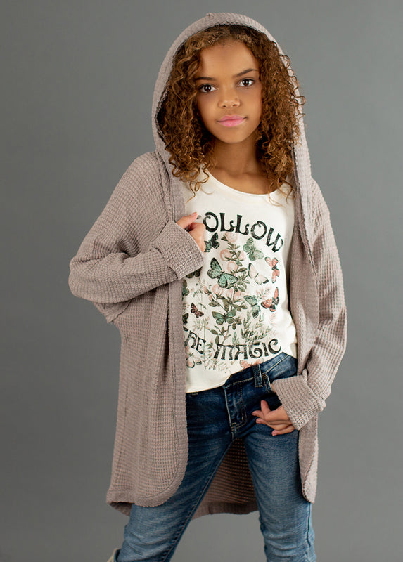 *NEW* Okasta Cardigan in Taupe
