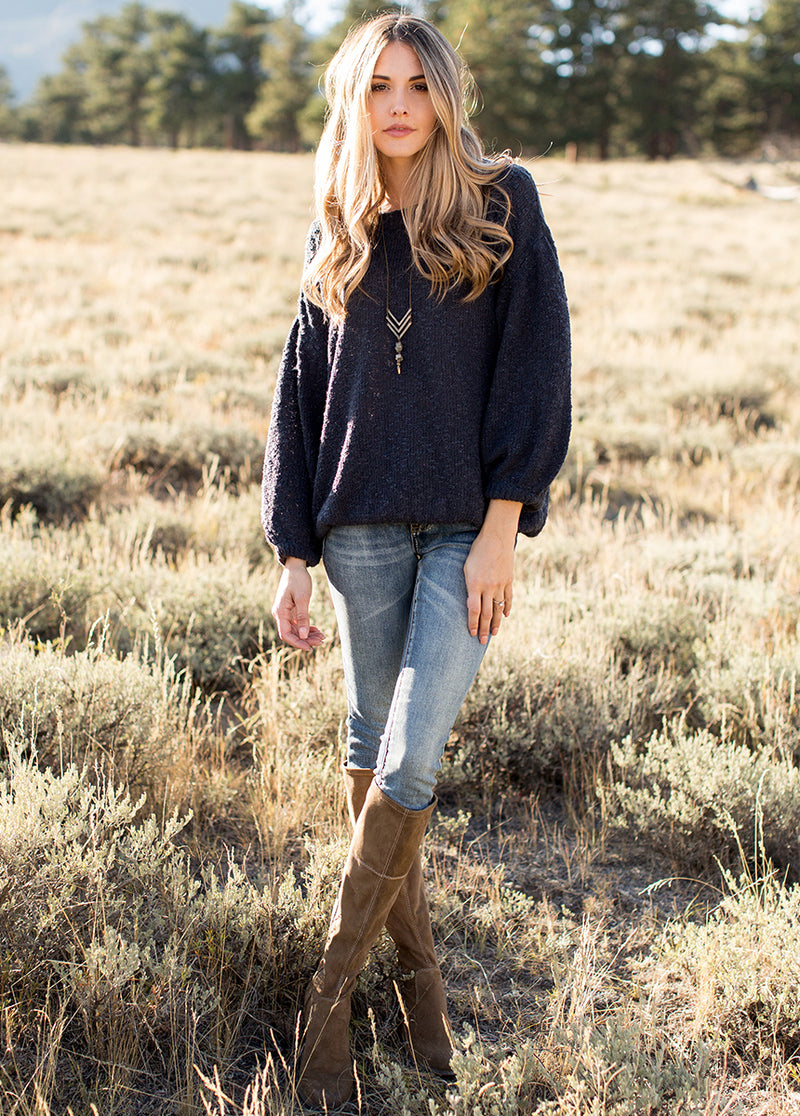 Olissa Sweater in Navy
