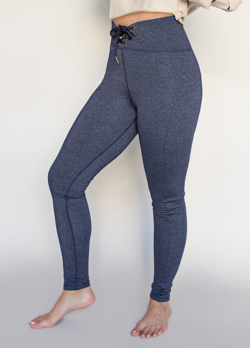 *NEW* Parker Legging in Heathered Navy