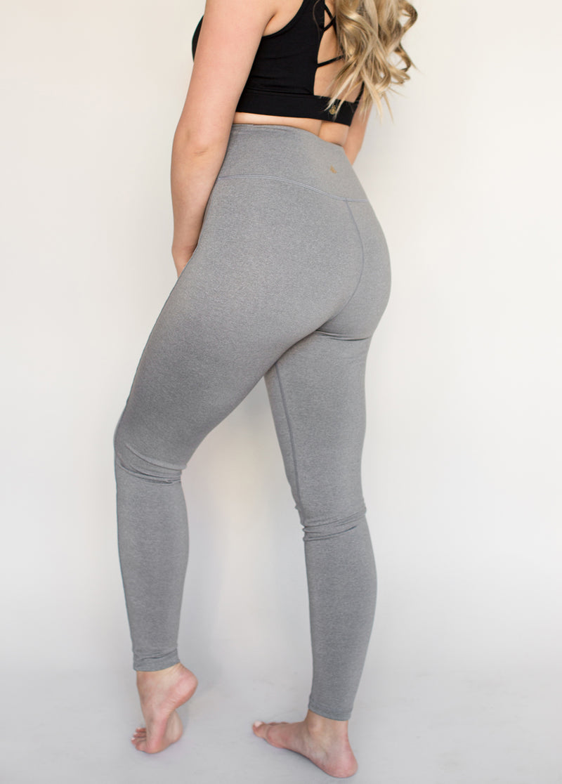 *NEW* Parker Legging in Heathered Gray